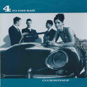 CD-Cover: Frau lehnt auf Sportwagen mit Band im Hintergrund