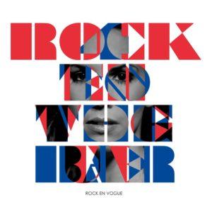 Grafik Rock Envogue mit hinterlegtem Gesicht